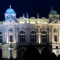 o raita prin Europa Centrala - 04 - nocturna cracoviana