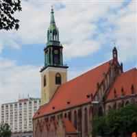 o raita prin Europa Centrala - 28 - la Berlin - Marienkirche F