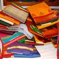 Confectionarea traditionala a sari-ului