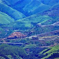 Locuri pe unde am fost-India. Kudremukh. Orasul minier.