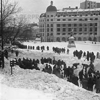 Bucurestiul in iarna lui 1954