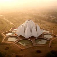 Locuri pe unde am fost-India-Delhi-Templul Lotus