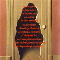Privind tablouri de Magritte