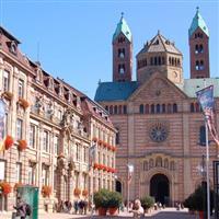 Cu Nikonul la drum.Un mic oras,cu un mare nume, Speyer.