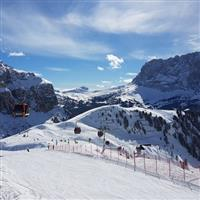 Cu Nikonul la skiat . Post Skriptum la Alta Badia 2018
