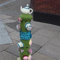 Graffiti tricotat