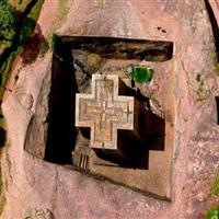 Lalibela –Ethiopie - L'église de Dieu