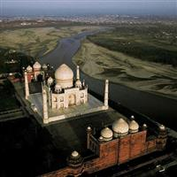 India_Agra_Taj Mahal-Fotografii  AirPano