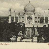 India vintage postcards