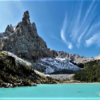 Din perlele Dolomitilor. Lago del Sorapis.