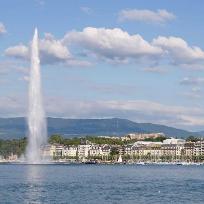 In jurul lacului Geneva