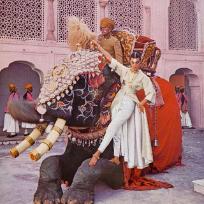 Fotografii rare din India realizate de Norman Parkinson