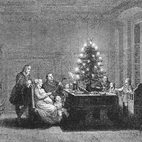 Pomul de Craciun in secolul al XIX-lea