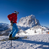 Cu Nikonul la skiat. SELLA  RONDA a treia  parte.