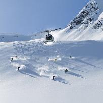 Din istoria skiului alpin.Heliskiing.