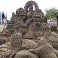 arta din nisip.