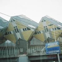 Casele cubice din Rotterdam