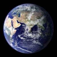 Pamantul vazut din satelit