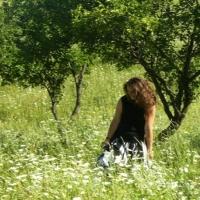 La Obreja-ntr-o grădină