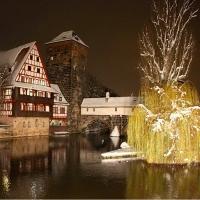 Nürnberg iarna, inainte de Craciun  (Adventszeit )