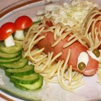 Fantezie cu spaghete