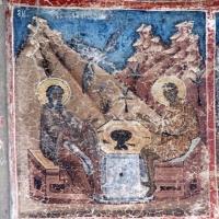 Manastirea Voronet - fatada nordica