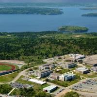 Orasul Saint John - fotografie aeriala