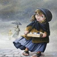 FETIŢA CU CHIBRITURI(Poveste de Hans Christian Andersen)