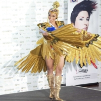 Miss Universe 2010 - costume national