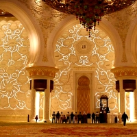 Moscheie din Abu Dhabi