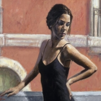 Women in Fabiam Perez paintings