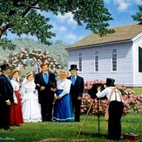 Country life by John Sloane USA 2