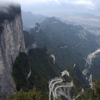 CHINA Tinamen Mountains