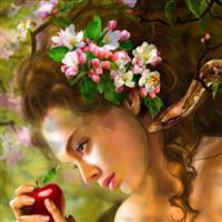 Adam ---- Eve--in Paradise