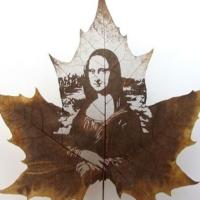 Lorenzo Duran leaf art...