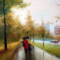 Orase plouate - picturi