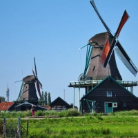 Zaanse-Schans-Holland