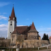 Biserica Fortificata Cristian, Jud. Sibiu.