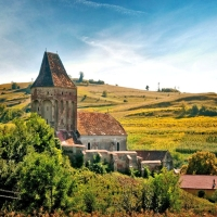 Biserica Fortificata Buzd, Jud. Sibiu.