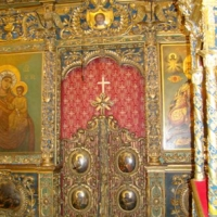Manastirea Golia - catapeteasma