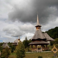 Manastirea Barsana - ansamblul monahal 2012