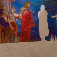 Pictand tabloul Iisus versus Barabas!