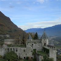 Miolans chateau