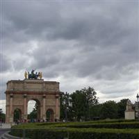 Paris Arc du Carrousel, 1808
