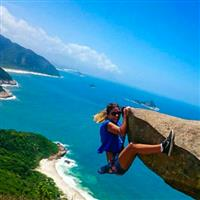 Imagini ameţitoare braziliene. Pedra do Telégrafo.