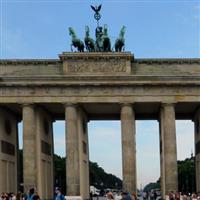 o raita prin Europa Centrala - 24 - la Berlin - la Poarta Brandenburg&Reichstag B
