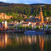 Heidelberg , orasul studentilor.