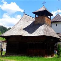 Biserica De Lemn Din Brosteni, Jud. Suceava.