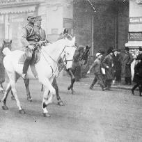 Bucuresti 1916, ocupat de trupele Puterilor Centrale