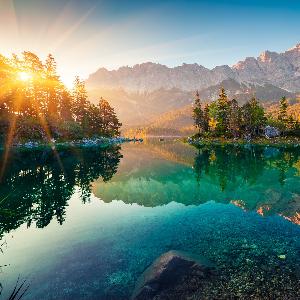 200 ani, Zugspitze,cel mai inalt varf al Germaniei.
